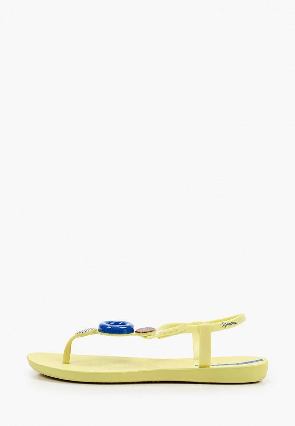 женские сандалии ipanema, желтые