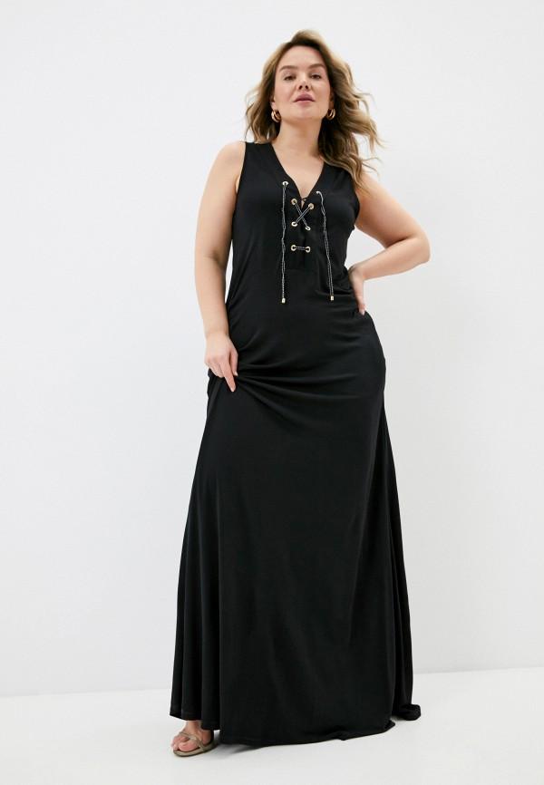 женское платье elena miro, черное