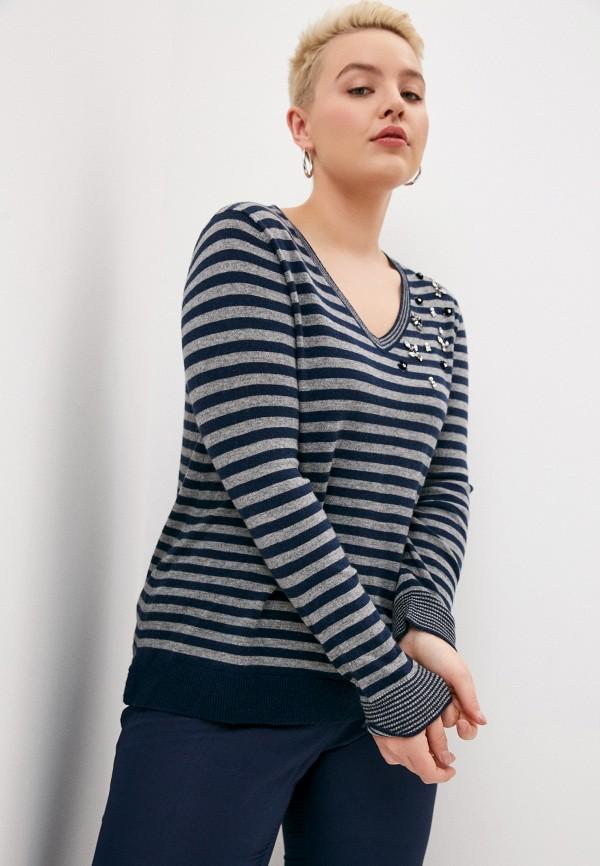 женский пуловер elena miro, разноцветный