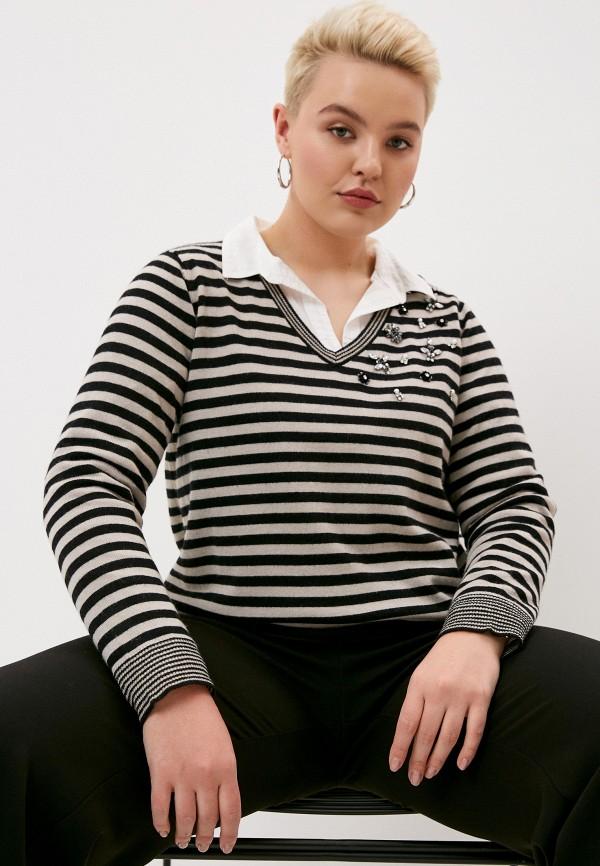 женский пуловер elena miro, бежевый
