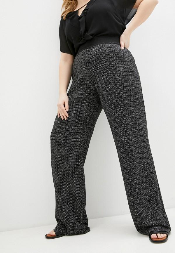 женские брюки клеш elena miro, черные