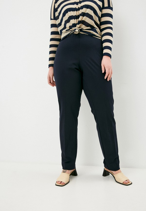 женские классические брюки elena miro, синие