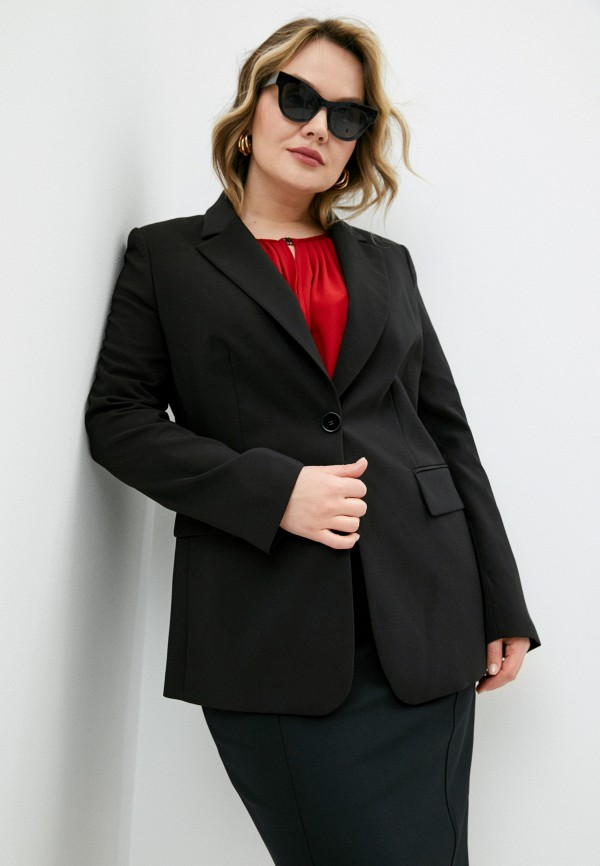 женский пиджак elena miro, черный