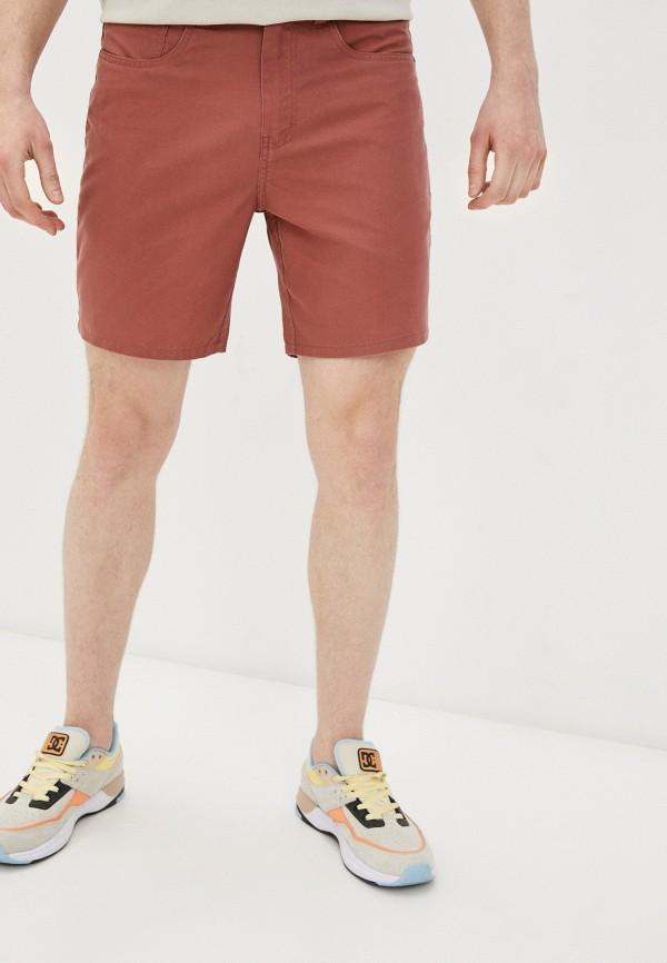 мужские шорты quiksilver, коричневые