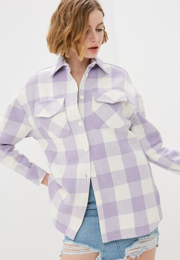 женская куртка imperial, фиолетовая