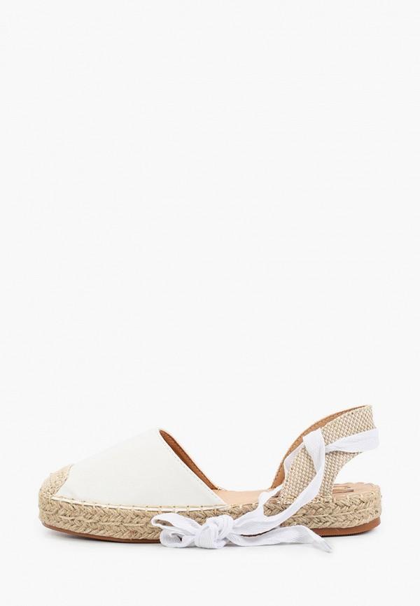 женские эспадрильи ideal shoes, белые