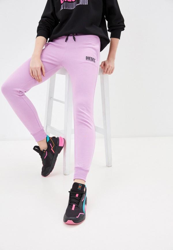 женские спортивные брюки diesel, фиолетовые