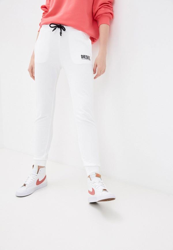 женские спортивные брюки diesel, белые