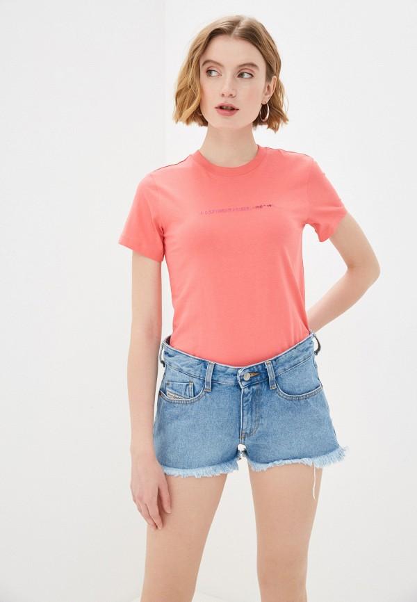 женская футболка diesel