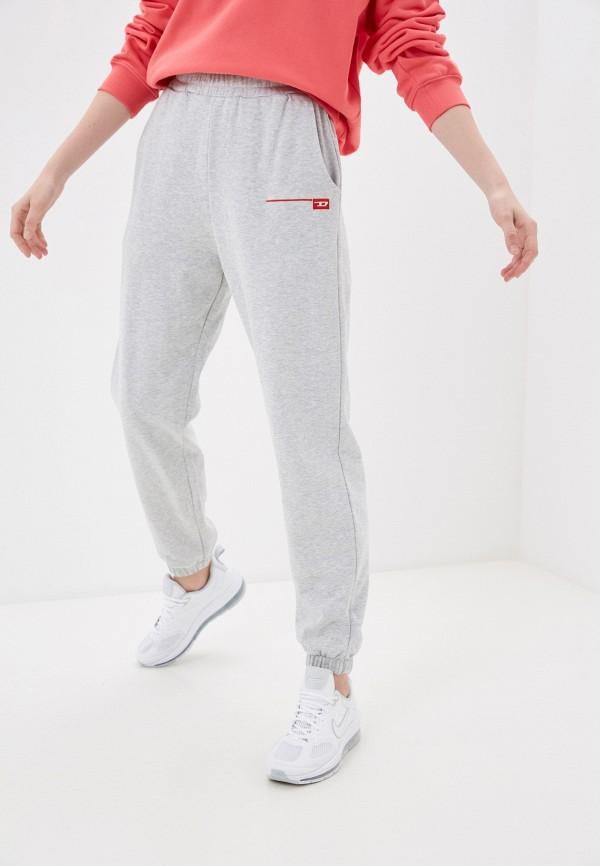 женские спортивные брюки diesel, серые