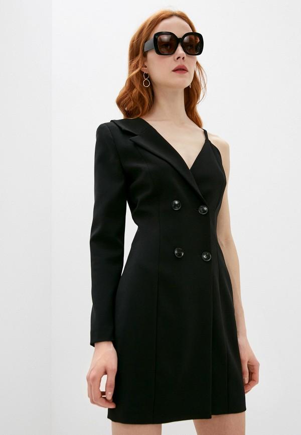 женское платье boutique moschino, черное