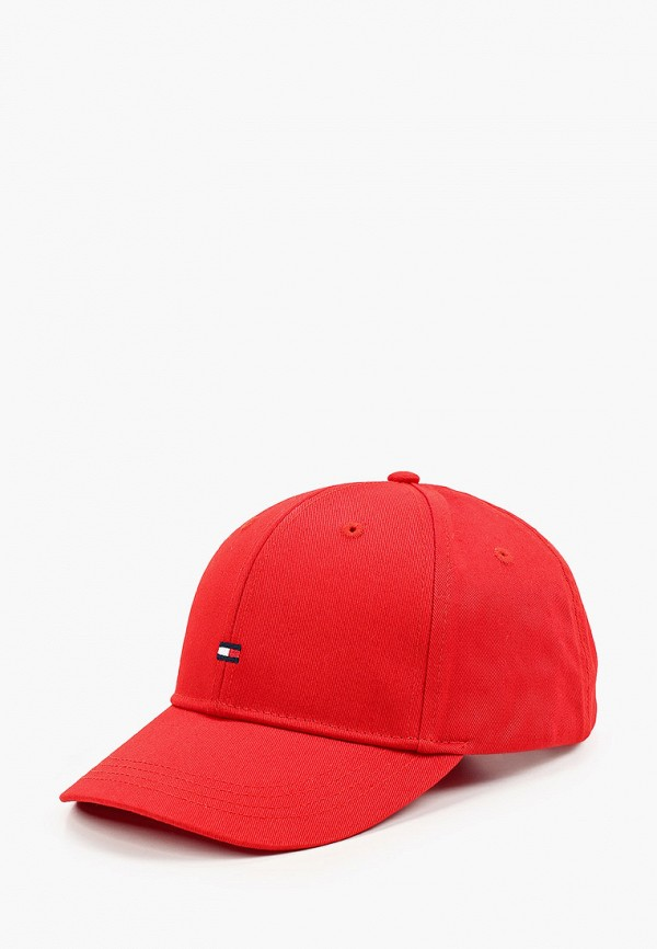 бейсболка tommy hilfiger для девочки, красная