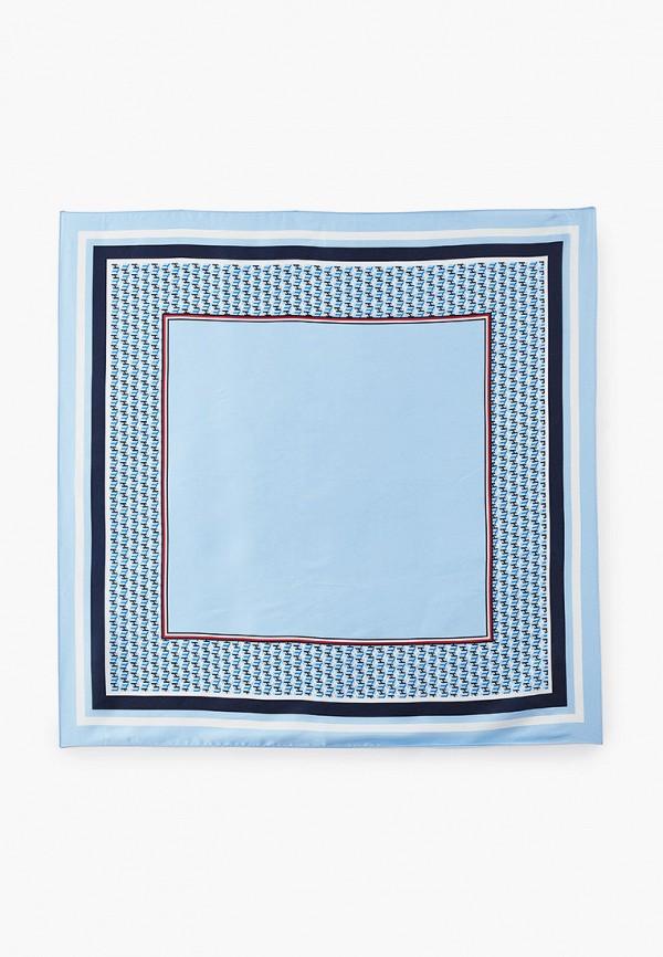 женский платок tommy hilfiger, голубой