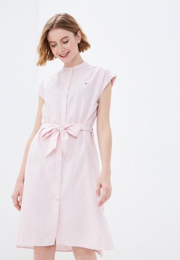 Платье Tommy Hilfiger розового цвета