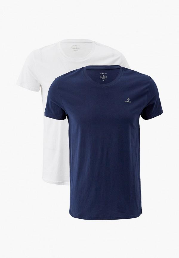 мужская футболка gant, разноцветная