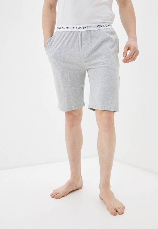 мужские шорты gant, серые