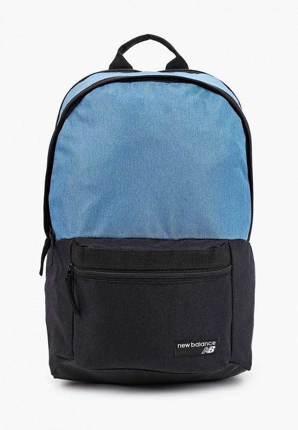 женский рюкзак new balance, бирюзовый