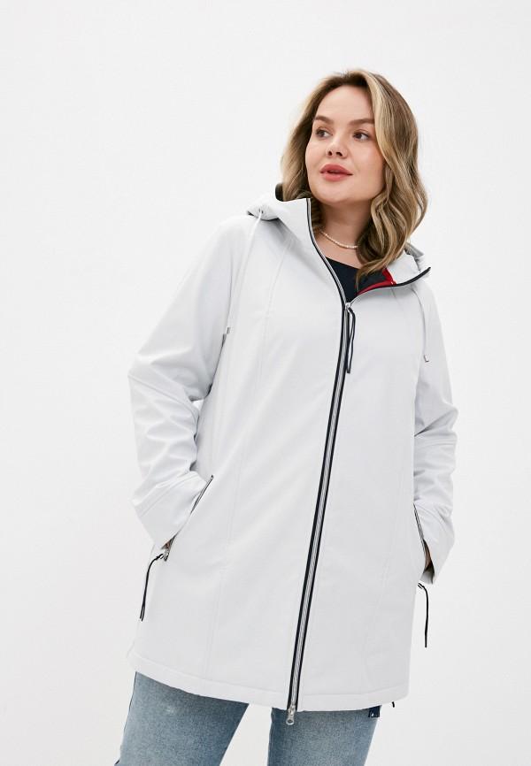 женская куртка ulla popken, серая