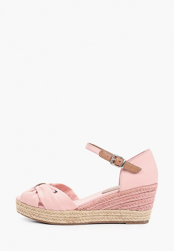 Босоножки Tommy Hilfiger розового цвета
