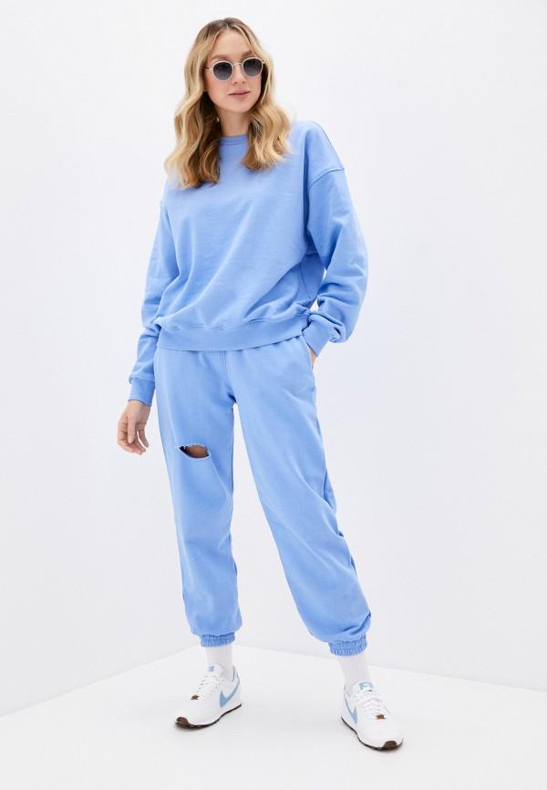 женский спортивный костюм imocean, голубой