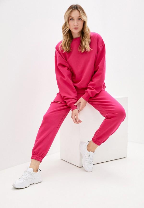 женский спортивный костюм imocean, розовый