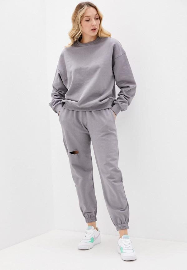 женский спортивный костюм imocean, серый