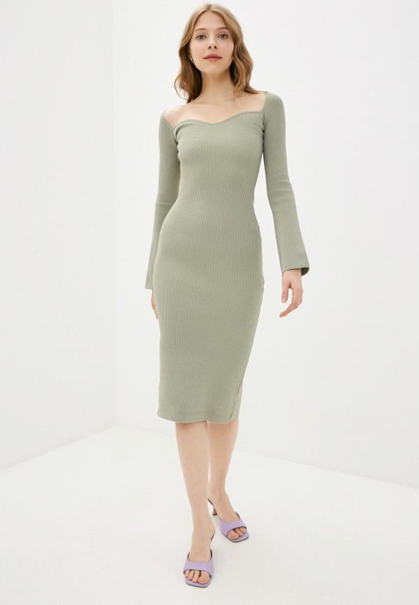 женское платье-футляр imocean, хаки