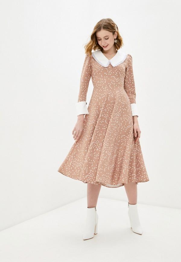 женское повседневные платье imocean, бежевое