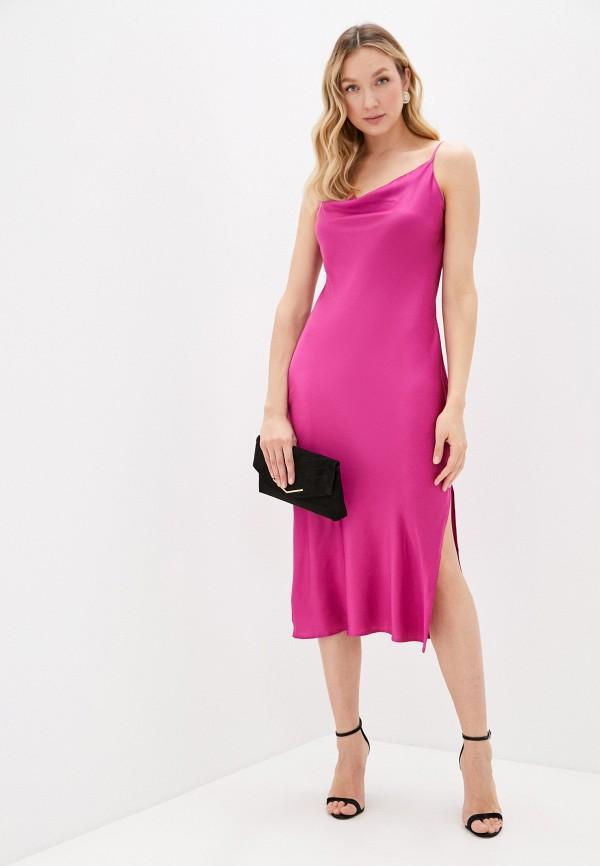 женское платье-футляр imocean, фиолетовое