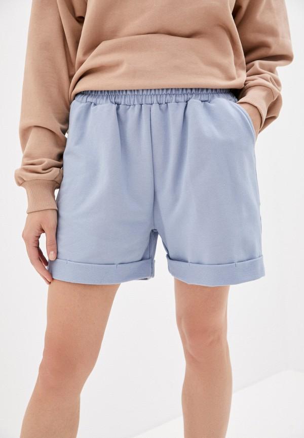 женские спортивные шорты imocean, голубые