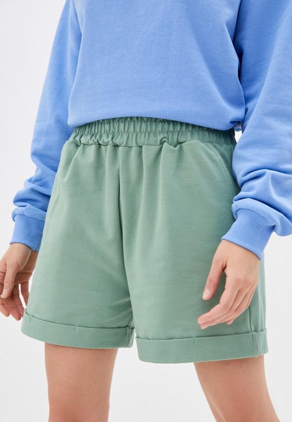 женские спортивные шорты imocean, зеленые