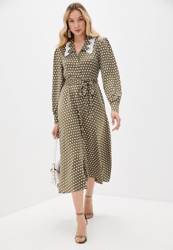 женское платье-рубашки imocean, хаки