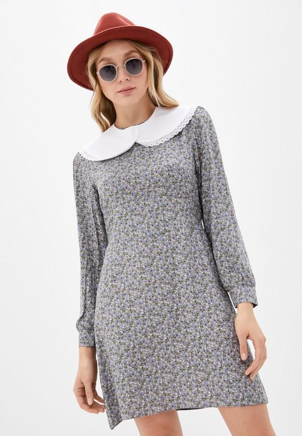 женское повседневные платье imocean, серое