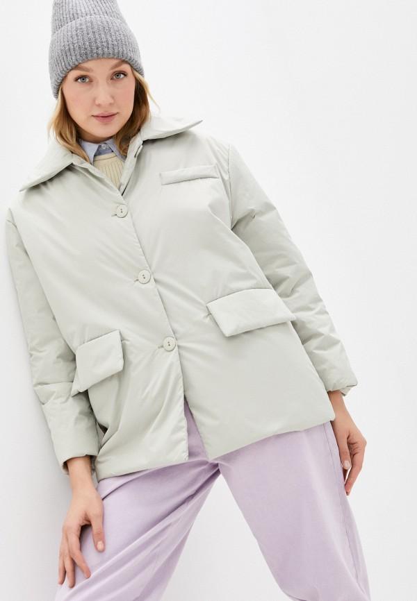 женская куртка imocean, зеленая