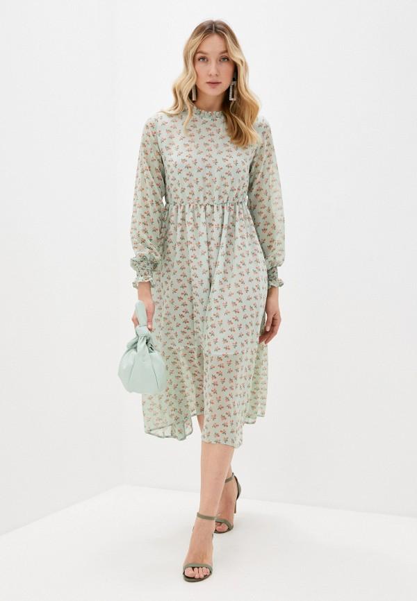 женское повседневные платье imocean, зеленое