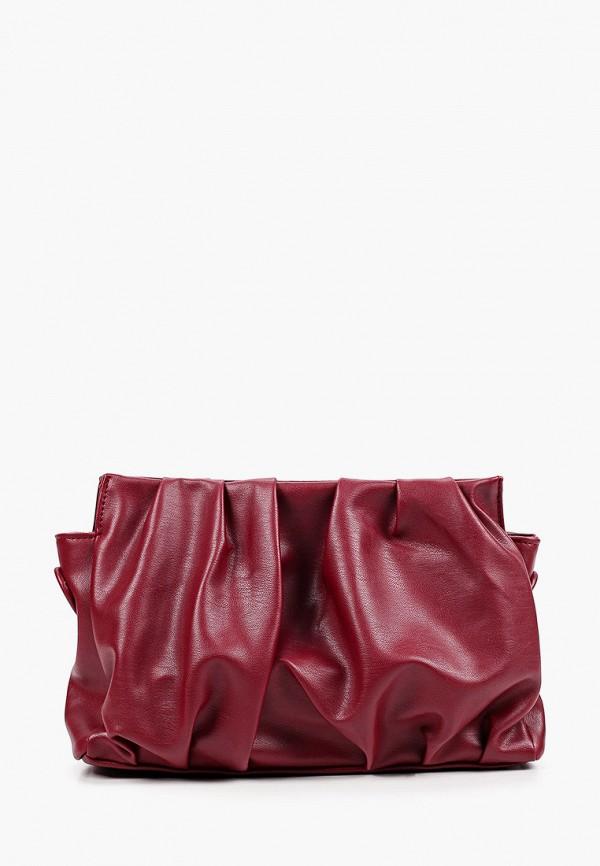 женская сумка через плечо pinkkarrot, бордовая