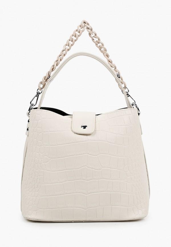 женская сумка с ручками pinkkarrot, белая