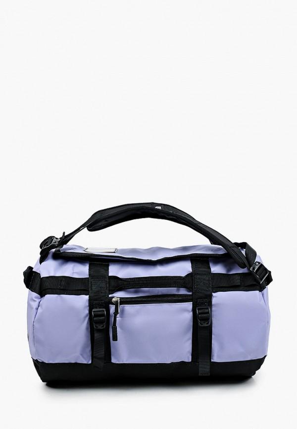 женский рюкзак the north face, фиолетовый