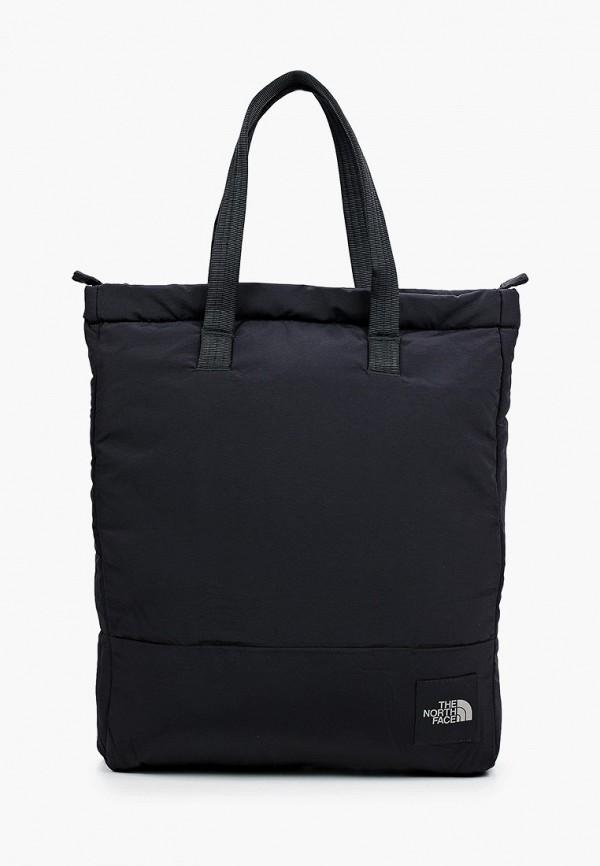 женская сумка-шоперы the north face, черная