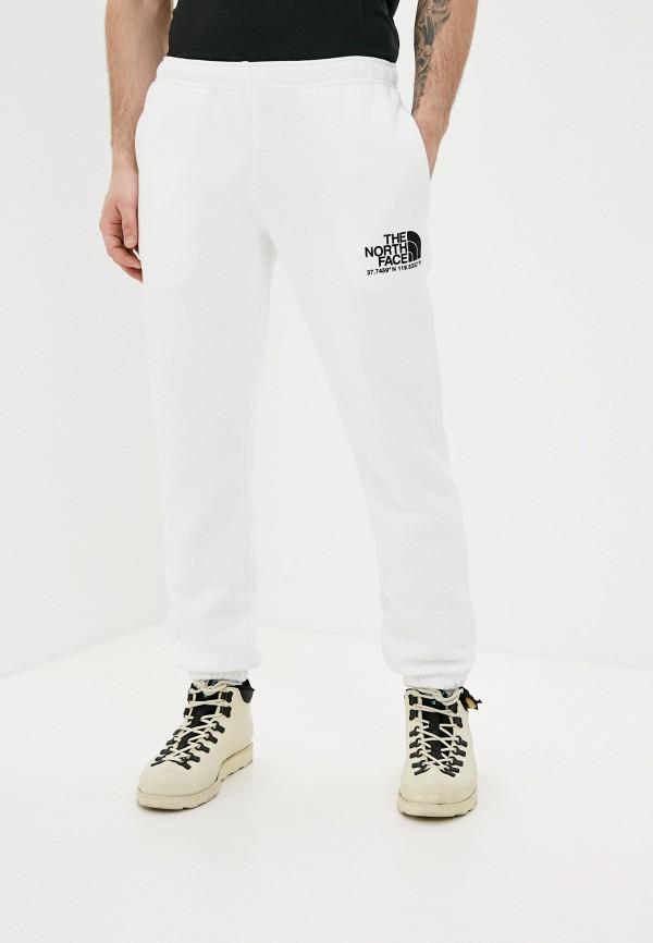 мужские спортивные брюки the north face, белые