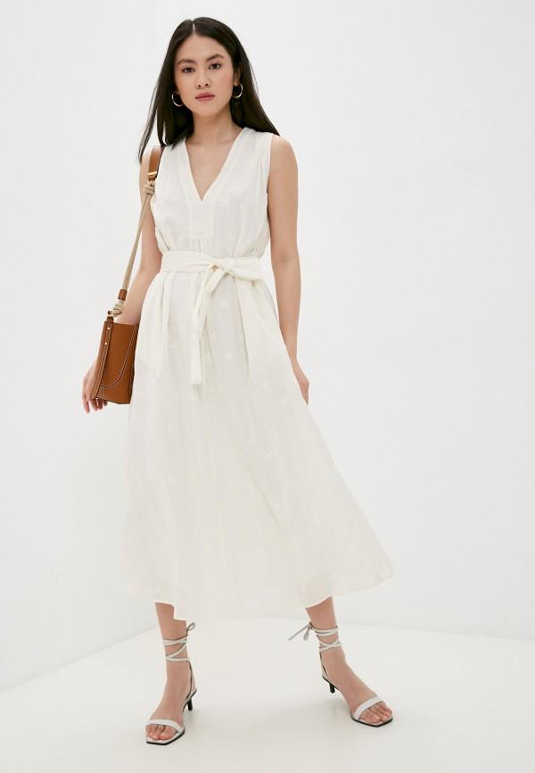 женское повседневные платье seventy, бежевое