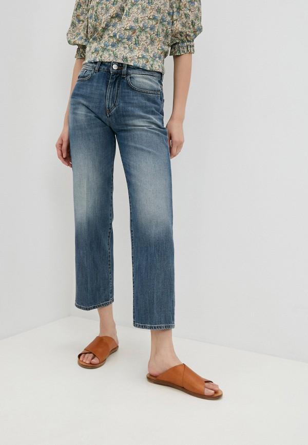 женские прямые джинсы seventy, синие