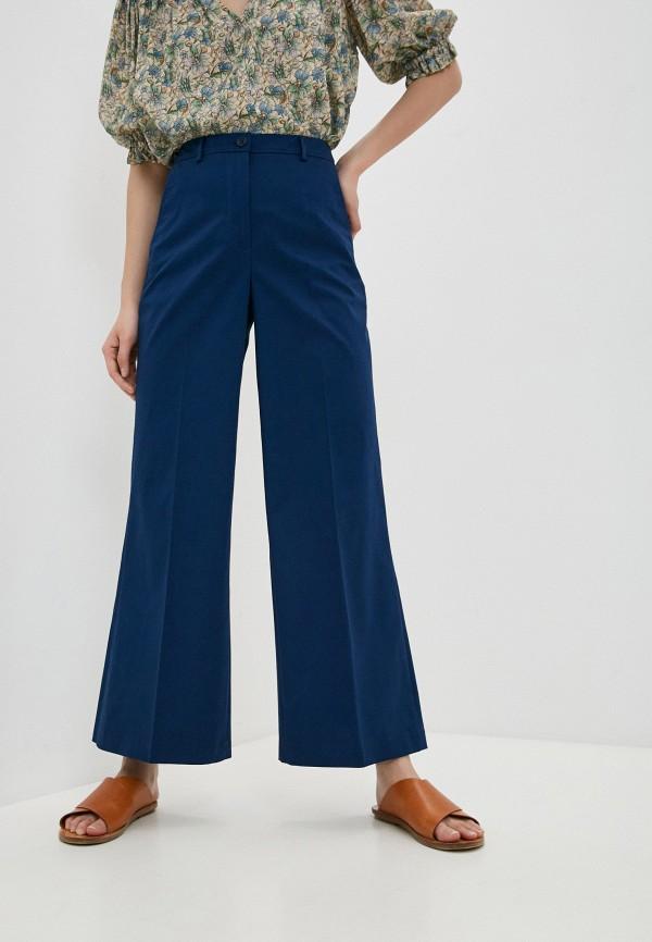женские классические брюки seventy, синие