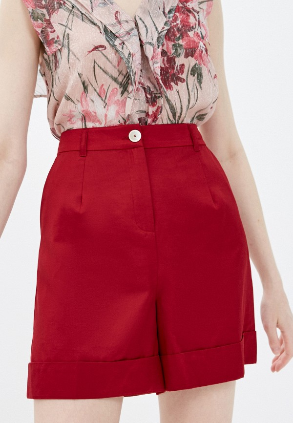 женские повседневные шорты pennyblack, бордовые