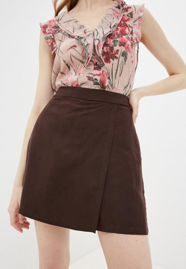 женская юбка pennyblack, коричневая