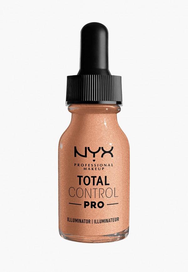 женский хайлайтер nyx professional makeup, бежевый