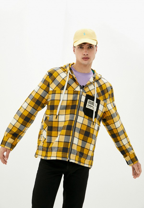 мужская легкие куртка diesel, желтая