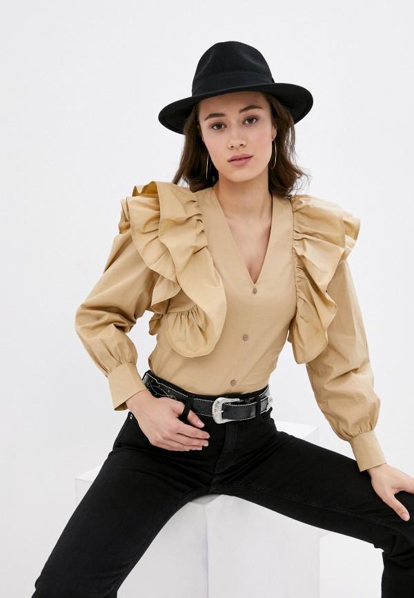 женская блузка rainrain, бежевая