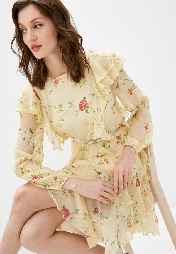 женское повседневные платье rainrain, желтое