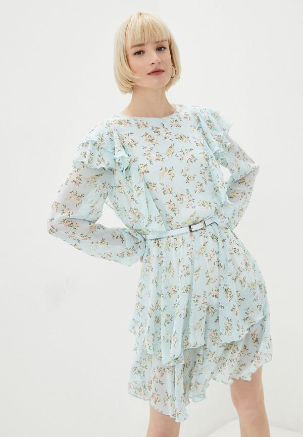 женское повседневные платье rainrain, бирюзовое